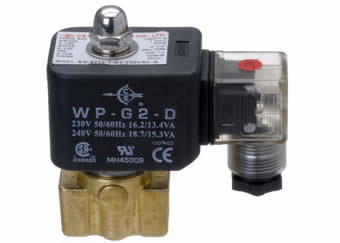 AD8000 series of solenoid valves