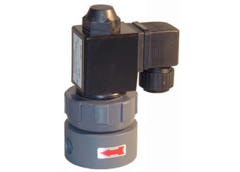 148 solenoid valve very aggressive media