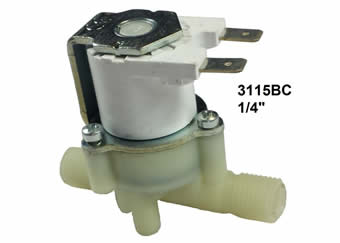 3115BC Plastic solenoid valve washing machines domestic appliances