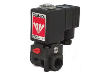 PPA1 plastic solenoid valve very aggressive media use