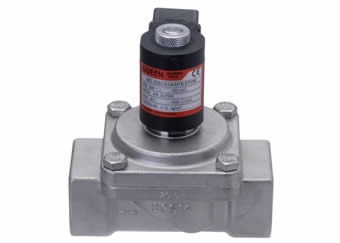 MD Series assisted lift steel solenoid valves